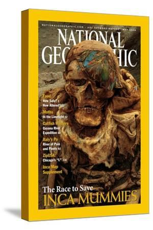 Cover of the May, 2002 National Geographic Magazine