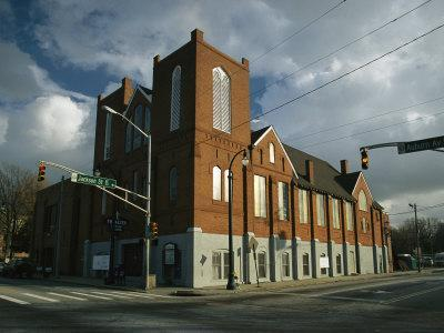 Ebenezer Baptist Church, Civil Rights Movement, Martin Luther King Sr. & Jr. were Pastors, Atlanta