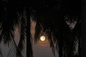 Moonrise in Luang Prabang, Laos by Ira Block