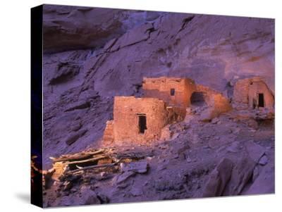 Ruins of Ancient Pueblo Indian or Anasazi Dwellings