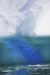 Close Up of an Iridescent Blue Iceberg with Gorgeous Coloring by Ira Meyer