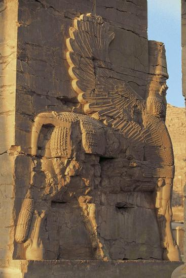 Iran, Persepolis, Gate of All Nations--Giclee Print