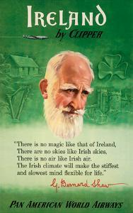 Ireland by Clipper - Pan American World Airways - George Bernard Shaw