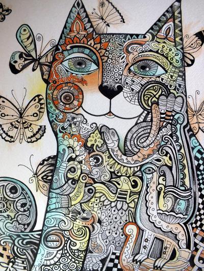 Ireland Cat-Oxana Zaika-Giclee Print