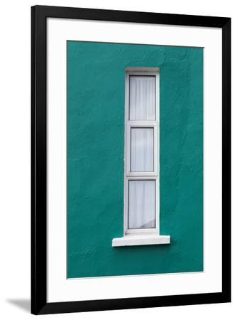 Ireland, County Cork Ring of Beara, Eyeries, colorful houses-Walter Bibikow-Framed Premium Photographic Print