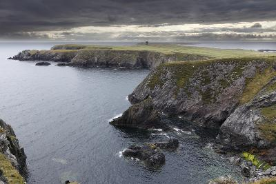 Ireland, County Donegal, View of Cliff with Sea-Westend61-Photographic Print