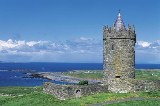 Ireland, Galway Bay, Dunguaire Castle--Giclee Print