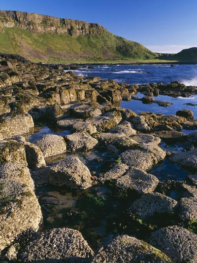 Ireland Giant's Causeway, Hexagonal Basalt Columns--Photographic Print