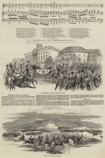 Ireland's Welcome to Queen Victoria--Giclee Print