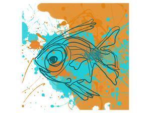 Aqua Fish by Irena Orlov