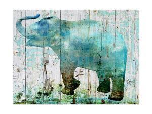 Blue Elephant by Irena Orlov
