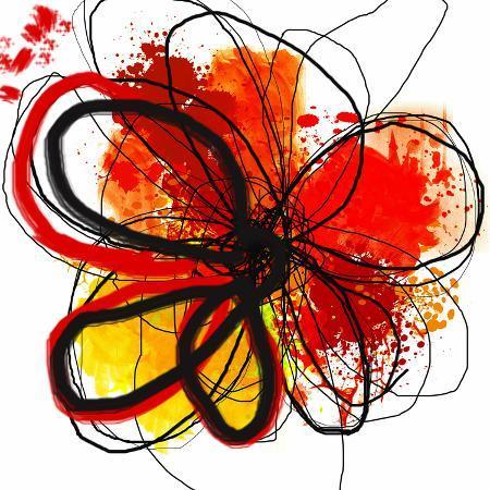 irena-orlov-red-abstract-brush-splash-flower-i