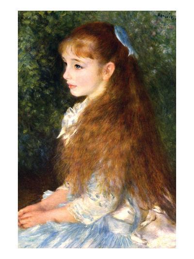 Irene Cahen D Anvers-Pierre-Auguste Renoir-Art Print