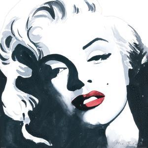 Marilyn Monroe I by Irene Celic