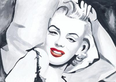 Marilyn Study in Bed