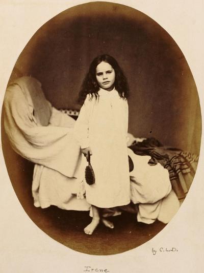 Irene, circa 1863-Lewis Carroll-Premium Giclee Print