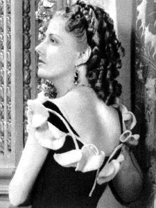 Irene Dunne, American Film Actress and Singer, 1934-1935
