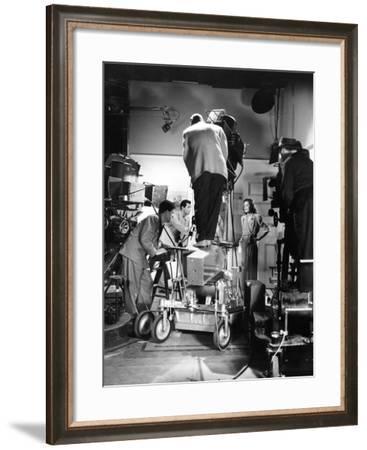 Irene Dunne, George Stevens, Cary Grant, Penny Serenade, 1941--Framed Photographic Print