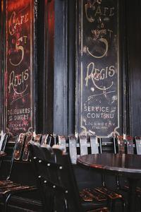 Cafe Saint-Regis by Irene Suchocki