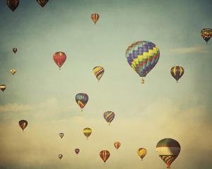 Dusk Balloons by Irene Suchocki