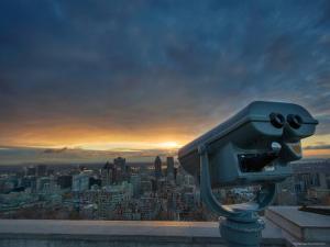 Montreal City View by Irene Suchocki