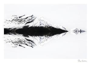 Mountain Pattern by Irene Suchocki