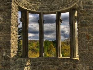 Ruins Window by Irene Suchocki