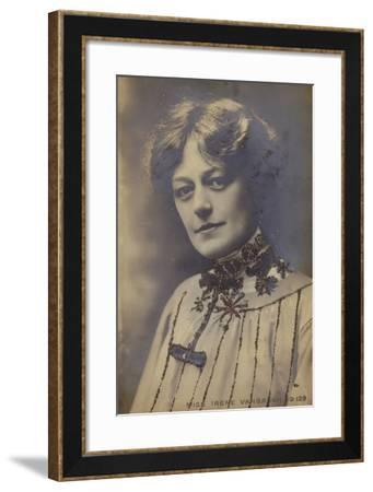 Irene Vanbrugh, English Stage Actress--Framed Photographic Print