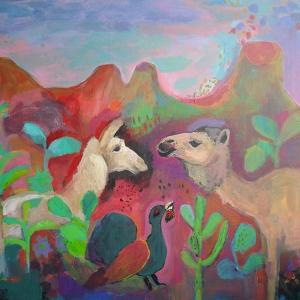 The Camel and the Llama by Iria Fernandez Alvarez