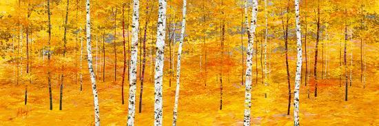 Iridescent Trees II-Alex Jawdokimov-Art Print