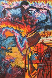 Fire Behind, 2015 by Irina Corduban