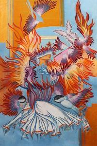 Recreated Chickadees, 2015 by Irina Corduban