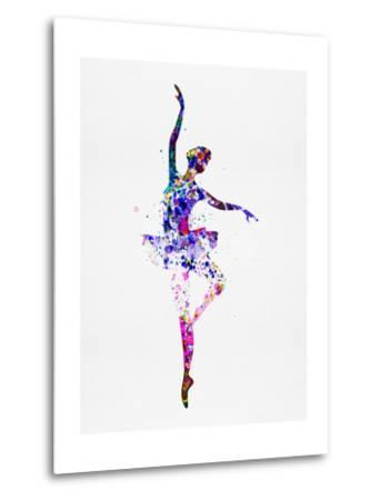 Ballerina Dancing Watercolor 2