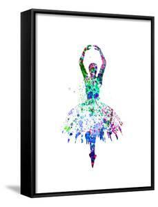 Ballerina Dancing Watercolor 4 by Irina March