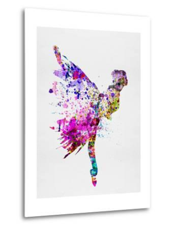 Ballerina on Stage Watercolor 3