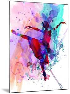 Ballerina's Dance Watercolor 1 by Irina March
