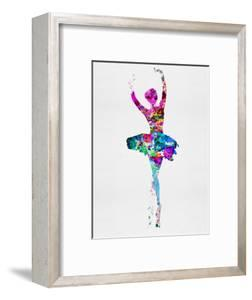 Ballerina Watercolor 1 by Irina March