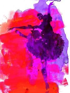 Ballerina Watercolor 3 by Irina March