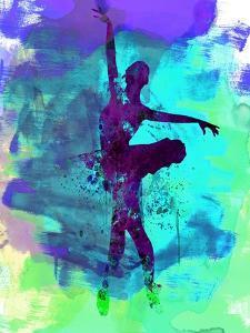Ballerina Watercolor 4 by Irina March