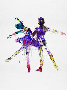 Ballet Dancers Watercolor 2 by Irina March