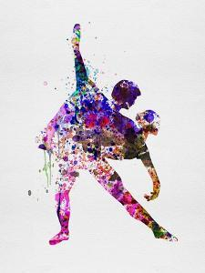 Romantic Ballet Watercolor 4 by Irina March