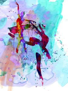 Two Ballerinas Watercolor 1 by Irina March