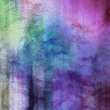 Art Abstract Watercolor Background On Paper Texture In Light Violet And Pink Colors-Irina QQQ-Art Print