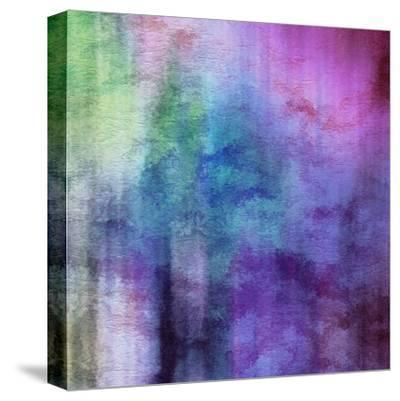 Art Abstract Watercolor Background On Paper Texture In Light Violet And Pink Colors by Irina QQQ