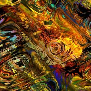 Art Colorful Abstract Seamless Pattern by Irina QQQ