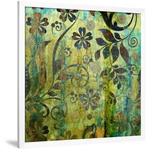 Art Vintage Floral Background Pattern by Irina QQQ
