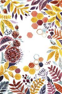 Autumn Florals 1 by Irina Trzaskos Studio