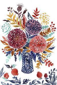 Autumn Florals 2 by Irina Trzaskos Studio