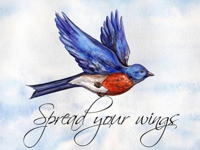 Bird Inspiration I by Irina Trzaskos Studio