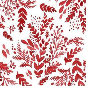 Botanical pattern 1 by Irina Trzaskos Studio